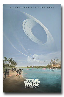 Star Wars Rogue One Rebelion Built On Hope Poster New - Maxi Size 36 x 24 Inch