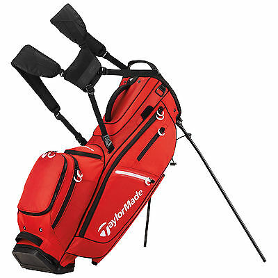 2017 Taylormade Mens Flextech Crossover Stand Bag - New 14-Way Divider Top Carry
