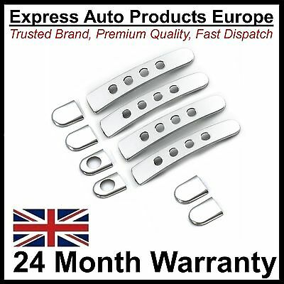 Door Handle Covers Chrome VW Lupo Passat B5 Audi TT Mk1 with Holes