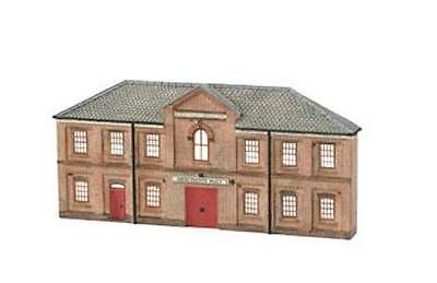 Bachmann 35056 N Scale Resin Building Front, Merchants Hall, Fine Detail