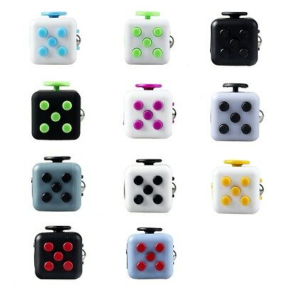 Fidget Cube Desk Toy Stress Anxiety Relief Christmas Focus Puzzle Adult Children