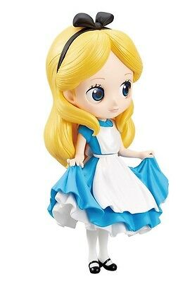 Figura Statua ALICE Wonderland NORMAL Color 14cm QPOSKET Banpresto DISNEY FIGURE