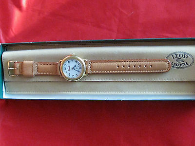 Vintage1984 Izod Lacoste Ladies Analog Quartz Watch Nib