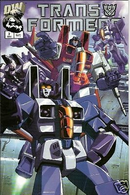 Transformers: Generation 1 #2 (Vol.1)  (Dreamwave)