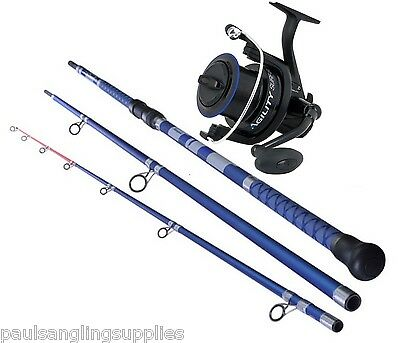 Shakespeare Agility 12ft 9 Fishing Rod & Reel Combo   Beach  Beachcaster  Pier