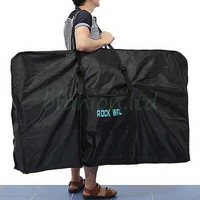 Portable Folding Waterproof Carry Bicycle Bag Mountain Road Bike Transport Case