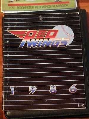 1986 Rochester Red Wings Program/Yearbook