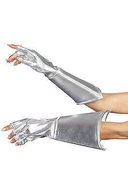 Medieval Space Galaxy Robot Costume Gloves Accessory