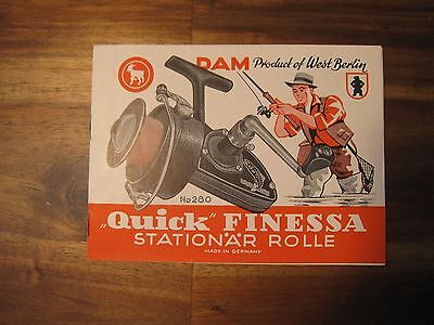 Vintage DAM Quick Finessa No. 280 Stationary Roller Manual Great Condition Damyl