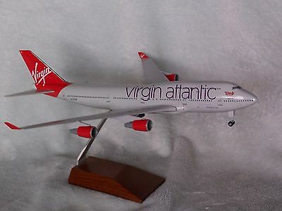 VIRGIN ATLANTIC AIRLINES  Boeing 747-400   SKYMARKS EXECUTIVE