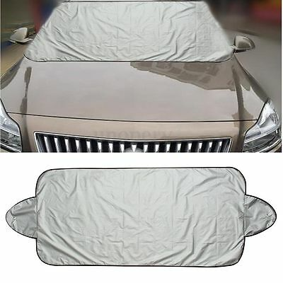 1Pc Catchy Foldable Car Windshield Snow Visor Cover Front Rear Window Sun Shade