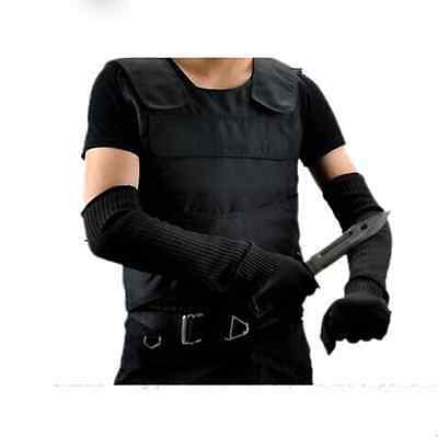 NEW 1 pair top cutting outdoor self-defense arm guard against knife cut Armbands