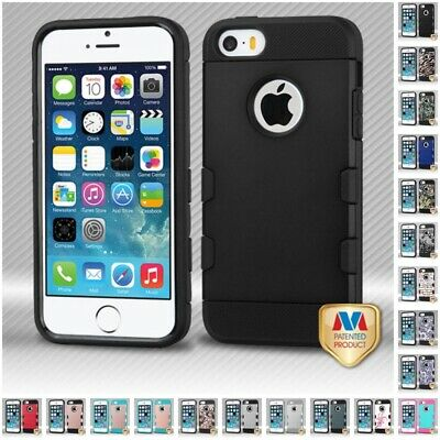 For Apple iPhone 5/5S/SE TUFF Trooper Slim Hard Shockproof Case IMPACT Cover