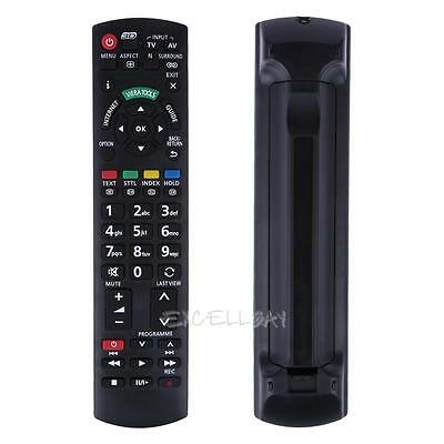 Replacement TV Remote Control for Panasonic 3D TV N2QAYB000487 N2QAYB000572