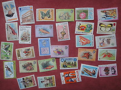 COMMONWEALTH GB UK - Lot timbres NEUFS Luxe **  - MNH Stamps  - r4v32