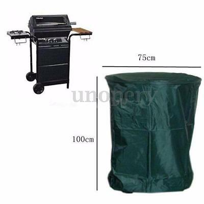 100X75cm Round Polyester Waterproof BBQ Cover Outdoor Barbecue Grill Protector