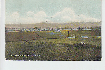 Lauder from Chester Hill, Berwickshire