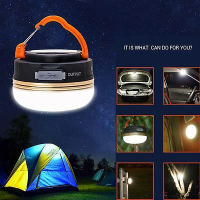 3W CREE LED USB Rechargeable Camping Outdoor Light Lantern Tent Lamp 6 hour