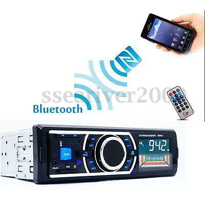 Bluetooth Car Audio Stereo MP3 Player Radio In-dash USB SD AUX Input Remote New