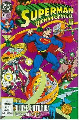 Superman: Man of Steel # 15 (Keith Giffen) (USA, 1992)