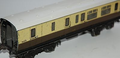 HORNBY SERIES O GAUGE No 2 COACH IN GREAT WESTERN RAILWAYS LIVERY