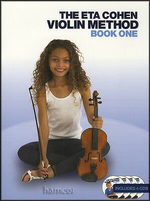 The Eta Cohen Violin Method Book 1 One Learn How to Play Book/4CDs