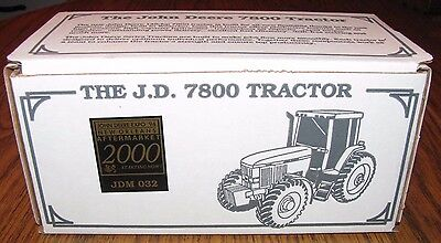 *John Deere 7800 Tractor Pewter Spec Cast Toy JDM032 1994 New Orleans Parts Expo