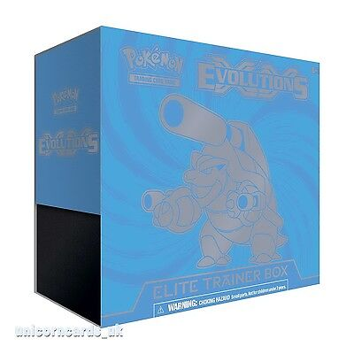 Pokemon TCG: XY12 - Evolutions Elite Trainer Box :: Mega Blastoise Version ::