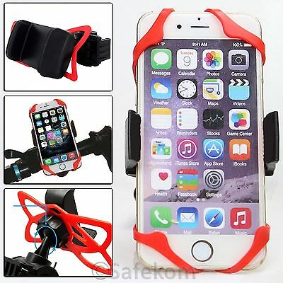 Universal Bike Bicycle Cycle Motorbike Handlebar Clip Mobile Mount Holder Stand