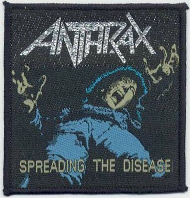 Anthrax Spreading The Disease Original Sew On Patch