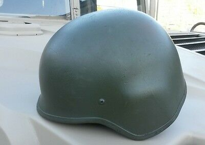 Army NATO Military Aramid Helm Battle Helmet Gefechtshelm oliv Gr. M / Medium