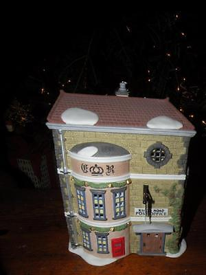 "Dept 56 Dickens'village ""kings Road Post Office""hand Painted Porcelain"