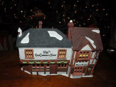 "Dept 56 Dickens Village Series ""the Old Curiosity Shop"" Hand Painted Porcelain"