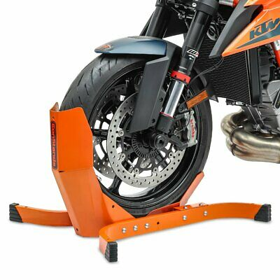 ConStands Motorcycle Front Paddock Stand Wheel Chock CPO