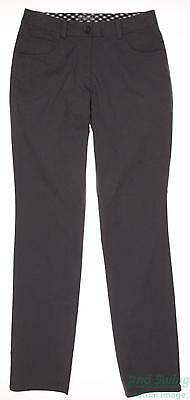 New Womens Nike Golf Pants Size 2 Gray MSRP $90