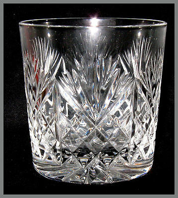 Pair Of Marked Edinburgh Crystal Iona Whisky Glass Glasses