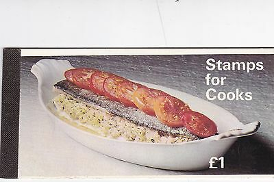 Stamps For Cooks Booklet ZP1A Excellent Mint Condition