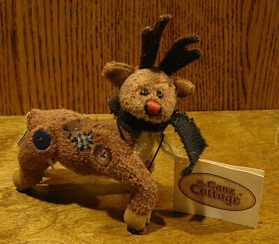 Ganz Cottage #CC1388B CHRISTMAS DOE, by Lorraine Chien NEW from Retail Store
