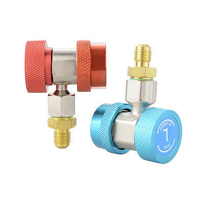 R134a Quick Connector Adapter Set Car Air-Conditioning Refrigeration Tool HS578