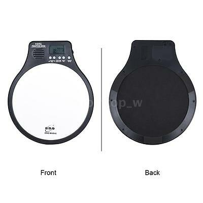 ENO Multifunction 3in1 Electric Digital Practice Drum Pad NEW BRAND White I9K9