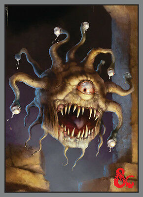 Dungeon and Dragons: Beholder Deck Protector (50) UPI 86517