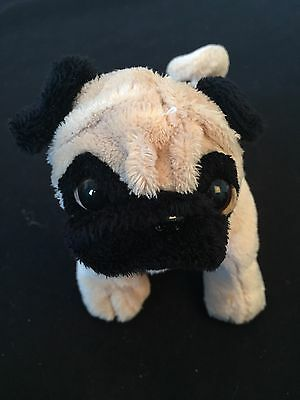 Webkinz HS105 Lil' Kinz Pug Dog Stuffed Animal Collectible Plush Toy Plushie