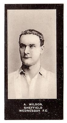 F. & J. Smith Footballers-No Series Title #29 A. Wilson-Sheffield Wednesday