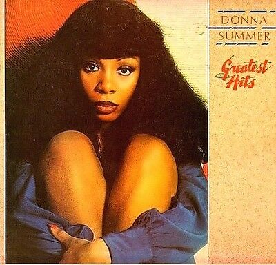 DONNA SUMMER -GREATEST HITS 1977 GROOVY LP Lady of the night-Virgin Mary