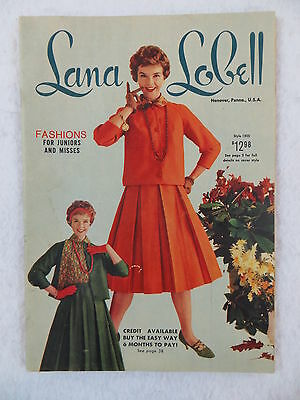 LANA LOBELL Fashions for Juniors and Misses 1958