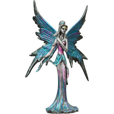 WATER - ELEMENTAL FAIRY FIGURINE 130 mm MADE OF PEWTER  Wicca Pagan Witch Goth