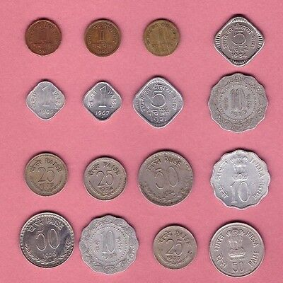 """India - (1961-1985) - Coin Collection """"MEGA"""" Lot #C - World/Foreign/Asia"""