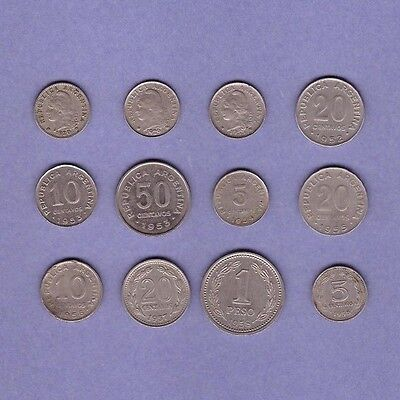 Argentina Coin - (1920-1958) Collection Lot #B - World/Foreign/South America