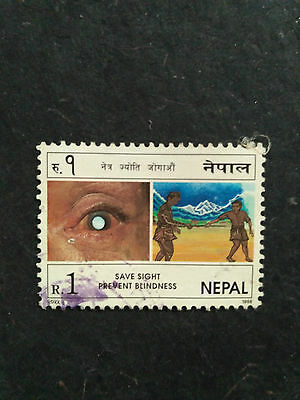 Nepal 1998   Prevent Blindness   Classic Selection  Used