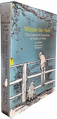 Winnie-the-Pooh: The Complete Collection of Stories and Poems by A. A. Milne-HB